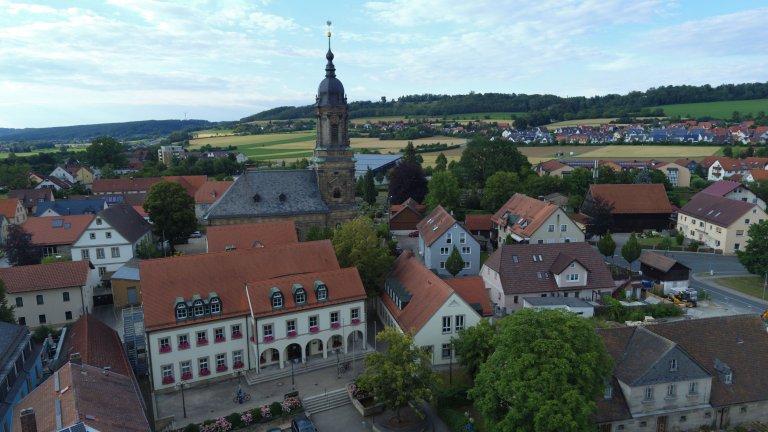 Drohnenbilder Rathaus