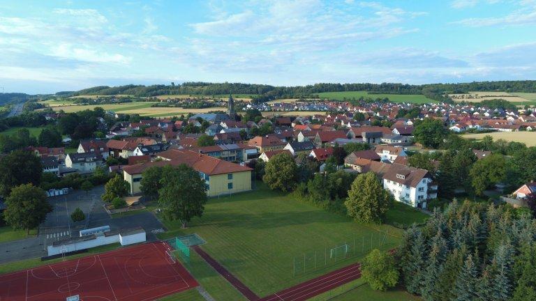 Drohnenbilder Schule