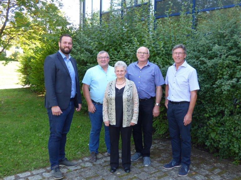Verabschiedung Schoberth, Wollenberg, Maisel, Meister_2